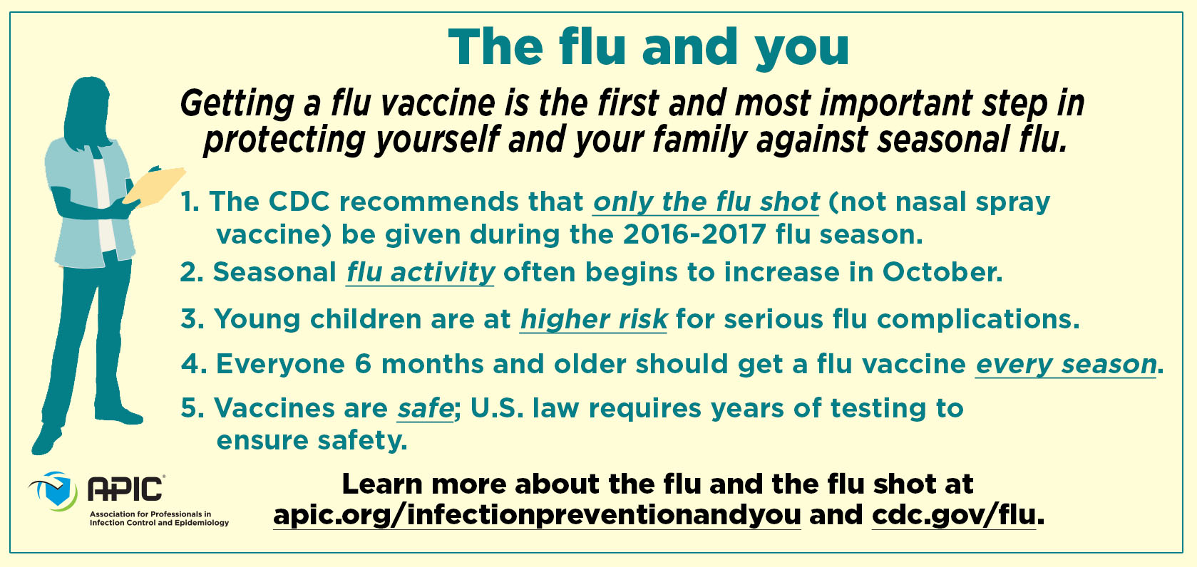 Ask About Vaccination Infection Prevention And You