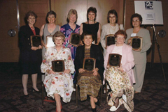 APIC honored members of the original steering committee at the APIC 1997 Annual Conference in New Orleans.
